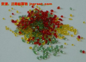 Color Glass Bead